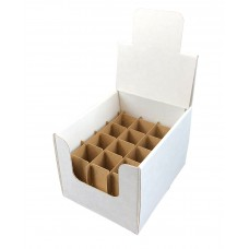 Countertop Shipper Display Box with divider 12 Cells for 1 oz Boston Round
