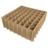 Chipboard Box Dividers 49 Cells for 2 oz (60ml) Boston Round